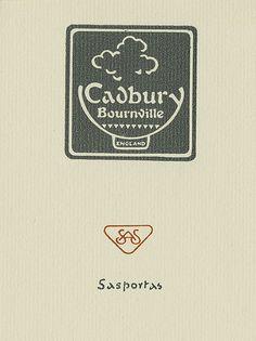 [Bookplate of Cadbury Bournville] by Pratt Libraries, via Flickr