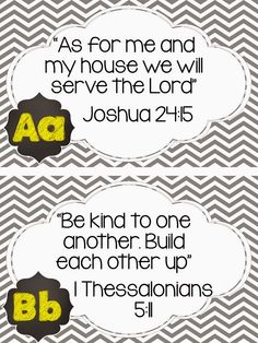 Teacher Twinkle Toes: Here are the FREE Alphabet Bible Verse Cards 1 bib...