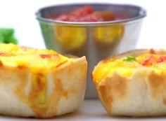 Breakfast Tortilla Cups
