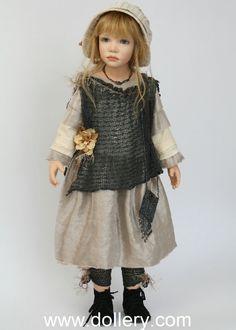 Куклы в одежде стиля Бохо