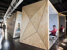 Compulsive Productions office by Matt Gibson, Melbourne – Australia