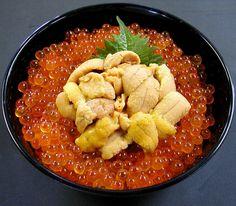 北海海鮮丼 Ikura/Uni Donburi