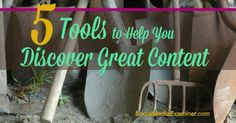 Do you need to discover great content for a more engaging social media experience? This article shares five tools to help you brainstorm new content ideas.