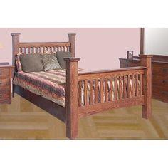 Forest Designs Queen Panel Bed Finish: Antique Alder