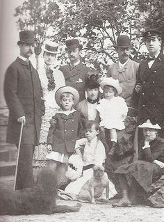 Marie with family