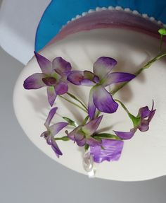 Dendrobium Orchid cake decoration