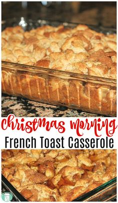 French Toast Casserole – Make Ahead Freezer Breakfast - Sleep in a bit longer this weekend. Breakfast is in the freezer ready to go in the oven! Make Ahead Meals, Freezer Meals, Freezer Cooking, Cooking Tips, Brunch Recipes, Breakfast Recipes, Make Ahead Breakfast Casseroles, Milk Recipes, Breakfast Dishes