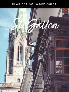 Whether you are a visitor, a new resident of St.Gallen, or even someone who's been in the Area for generations, this guide will help you get to know St.Gallen a little better. St Gallen, Flexibility Training, Saints, Author, Travel, Egyptian Mummies, Brewery, Old Town, Switzerland