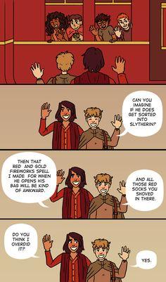 Sirius raises Harry