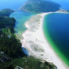 One of the most beautiful places I have ever been. Islas Cies, Spain  Ideas para http://masymejor.com