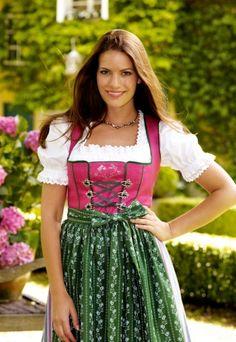 Fine Dirndl Dress from Kaiserjäger/ Austria