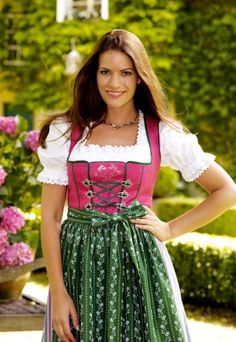 Fine Dirndl Dress from Kaiserjäger/ Austria