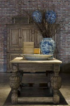 Ralph Lauren Home - RLH Furniture New Collection- Love that table!