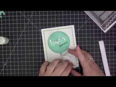 ▶ Birthday Balloon Shaker Card - YouTube - Stephanie Klauck  #mftstamps