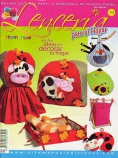 Revista Lenceria para el hogar No. 70