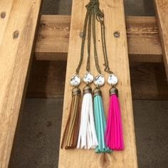 ATX Tassel Necklace – Southern Mess Boutique