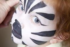 Zebra Kids Facepaint