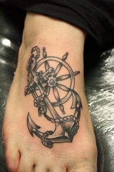 147 Mejores Imágenes De Anclas Y Timones Tattoo Anchors Female