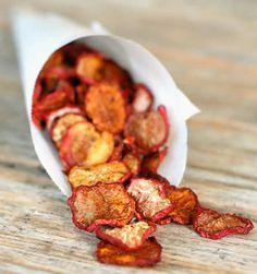 #Radijs chips: koken, kruiden & bakken in de oven