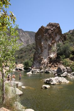 Red Rock Pool - Take a short half-mile hike on the Red Rock trail in the Los Padres National Forest to reach this popular swimming spot surrounded by stunning scenery.