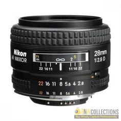 Buy Nikon AF 28mm f/2.8D wide-angle lens At Rs.27,800 Features :- natural wide-angle perspective, smooth adjustments during Live View shooting Cash on Delivery Hassle FREE To Returns Contact # (+92) 03-111-111-269 (BnW) #BnWCollections #Nikon #wide #angle #Camera #lens