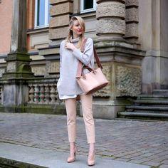 Leonie Hanne - Chloé Bag, Pants, Heels, Shirt, Pullover - Ohh Chloé   ohhcouture.com