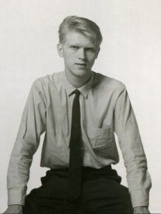 Swedish Leif-Erik Nygårds, assistant to Bert Stern, photographed by Marilyn Monroe after her last photo session in 1962
