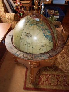 Old World Globe Bar | EBay