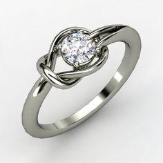Diamond knot ring | Hurcules-diamond-enagement-ring-round-diamond.original