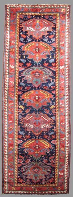 Sauj Bulagh Kurdish rug, late 19th century