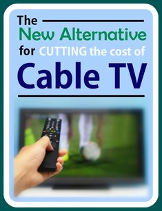 A new source to help you cut the cost of cable tv-SLING TV (new Jan 2015); also mentions HomeWorx Digital conversion (antenna) box ($60)