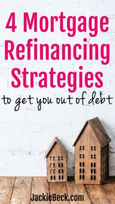 4 Mortgage Refinancing Strategies to Get You Out of Debt - How To Calculate Morgage - Watch this before VA Home Loan - Thinking of refinancing your home? You might be amazed at how these 4 mortgage refinance strategies could cut years off your mortgage. Mortgage Quotes, Mortgage Humor, Mortgage Loan Officer, Mortgage Tips, Home Refinance, Cash Out Refinance, Refinance Mortgage, Mortgage Payment Calculator, Private Mortgage Insurance