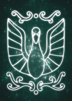 "Saint Seiya Zodiac Emblems Cygnus #Displate artwork by artist ""MCAshe Art"". Part of a 6-piece set featuring designs based on emblems from the popular Saint Seiya anime TV series. £35 / $46 per poster (Regular size), £71 / $94 per poster (Large size) #SaintSeiya #KnightsOfTheZodiac #SaintSeiyaOmega #Zodiac #Anime #Manga #Andromeda #Athena #Cygnus #Dragon #Pegasus #Phoenix"