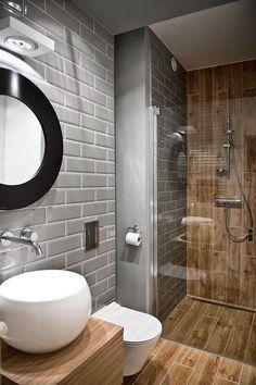 Modern Bathroom Ideas for Small Bathrooms Elegant Walk In Shower In A Small Bathroom – Design Ideas for Bathroom Toilets, Basement Bathroom, Bathroom Interior, Bathroom Modern, Masculine Bathroom, Bathroom Layout, Bathroom Faucets, Bathroom Storage, Bathroom Black