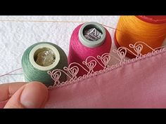 Thread Spools, Elsa, Make It Yourself, Stitch, Youtube, Instagram, Fabrics, Lace, Needlepoint