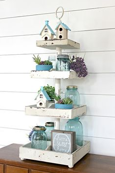 Spring tray decor ideas