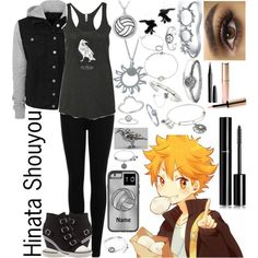 Hinata Shouyou: Haikyuu!! by ender-chic52 on Polyvore