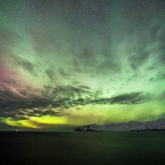 """""""Northern Lights over Iceland""""    Canon 5D  f/2.8  32 sec.  ISO-800    Copy Credit : Fróði Brinks Pálsson    Fr brinks photography"""