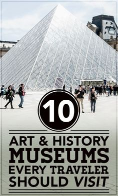 Next time you are planning a trip or vacation, make sure that you include these museums