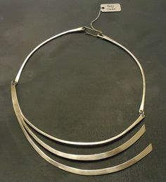 Necklace | Betty Cook. Sterling Silver.  Pre 1970s
