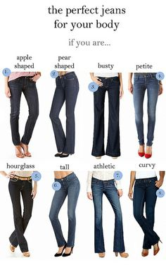 The Perfect Jeans for Your Body
