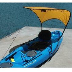 Sails Bimini Sun Shade - Kayak Accessories Mark so needs this!WindPaddle Sails Bimini Sun Shade - Kayak Accessories Mark so needs this! Kayak Boats, Kayak Camping, Canoe And Kayak, Kayak Fishing, Fishing Boats, Outdoor Camping, Ocean Kayak, Diy Camping, Kayak Cart
