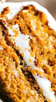 Carrot Pumpkin Cake ~ The BEST EVER, raved about... Moist, delicious, easy, and quick to make!