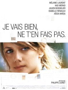 """Je vais bien, ne t'en fais pas"" with Melanie Laurent. Film Movie, Cinema Film, Cinema Posters, Melanie Laurent, Films Netflix, Netflix Movies To Watch, Beau Film, Great Films, Good Movies"
