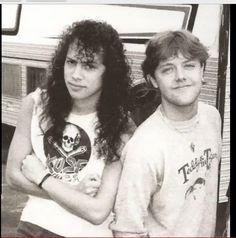 Kirk Hammett & Lars Ulrich