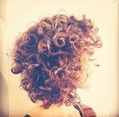 Short Hairstyle Curly