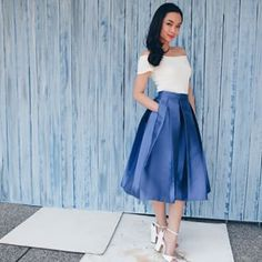 KENDRA TOP + EMMA SKIRT @apartment8clothing // For Orders And Inquiries,  Email Us