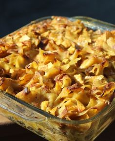 Pumpkin Apple Noodle Kugel is a taste of fall that is perfect for breakfast or dessert| www.tastyoasis.net