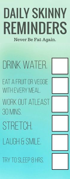 It's easy to get busy and forget the simple steps to a daily health routine…. It's easy to get busy and forget the easy steps to a daily routine. Here is a checklist. Save and again as a reminder of busy days. Fitness Workouts, Fitness Motivation, Weight Loss Motivation, Weight Loss Tips, Fitness Tips, Fitness Models, Losing Weight, Fitness Snacks, Weight Workouts