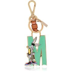 MOSCHINO Bugs Bunny Enameled Key Holder (€105) ❤ liked on Polyvore featuring accessories et moschino